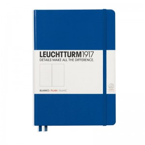 Notes Leuchtturm1917 Medium A5 błękit królewski - ROYAL