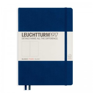 Notes Leuchtturm1917 Medium A5 granatowy - NAVY