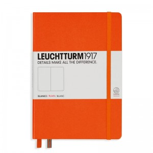 Notes Leuchtturm1917 Medium A5 pomarańczowy - ORANGE