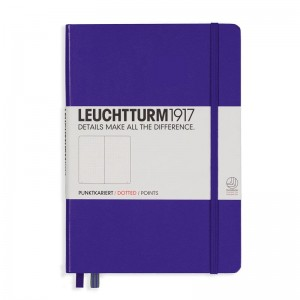 Notes Leuchtturm1917 Medium A5 fioletowy - PURPLE