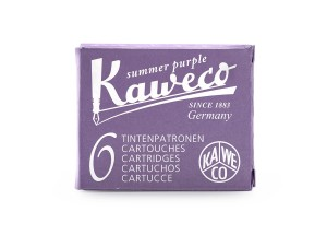 Naboje Kaweco Summer Purple fioletowe