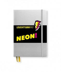 Notes Leuchtturm1917 Medium A5 kropki NEON żółty