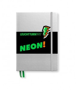 Notes Leuchtturm1917 Medium A5 kropki NEON zielony