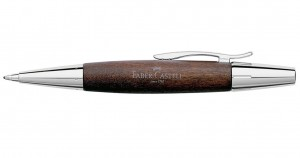 Długopis Faber-Castell E-motion pearwood dark brown